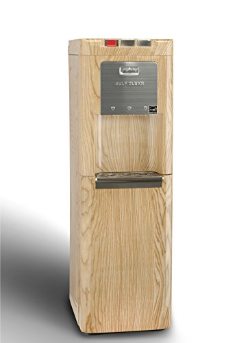 0817925002978 - GLACIAL OAK BOTTOM LOADING COMMERCIAL WATER COOLER, SELF CLEANING