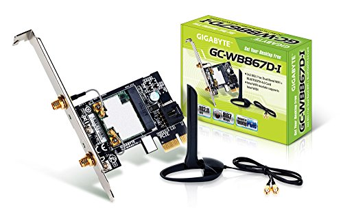 0818313019295 - GIGABYTE BLUETOOTH 4.0/WIFI EXPANSION CARD COMPONENTS OTHER GC-WB867D-I