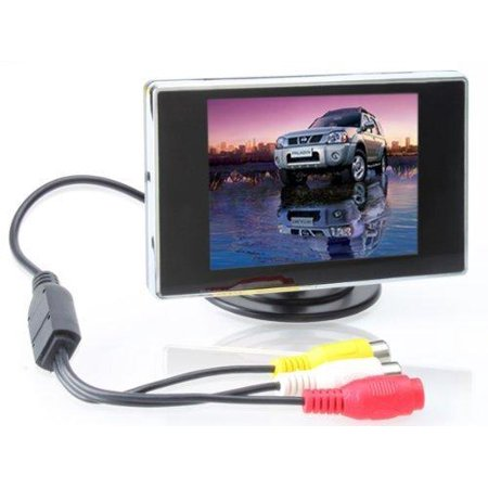 0818680001411 - ATIAN 3.5 INCH TFT LCD MONITOR FOR CAR / AUTOMOBILE