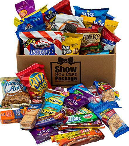0820103755207 - SHOW YOU CARE PACKAGES SNACK PACKAGES WITH SNACKS FOR COLLEGE CARE PACKAGES AND THANK YOU CARE PACKAGE