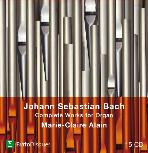 0825646990283 - BACH:COMPLETE ORGAN WORKS