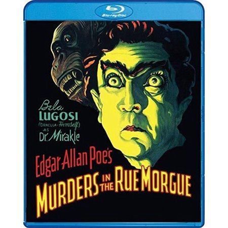 0826663204971 - MURDERS IN THE RUE MORGUE (BLU-RAY)