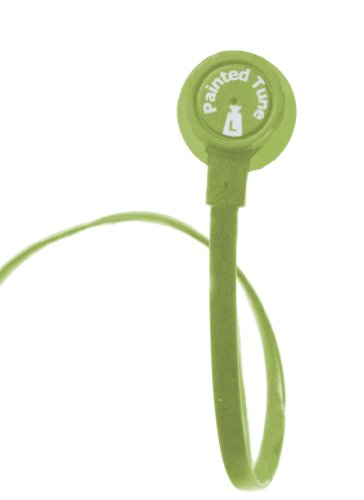 0827204108574 - PAINTED TUNES HF200G HEADPHONE FOR IPOD, IPAD, AND TABLET (GREEN)