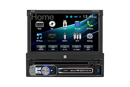 0827204111642 - DUAL DV516BT SINGLE-DIN MULTIMEDIA DVD RECEIVER WITH BLUETOOTH