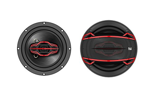 0827204211007 - DUAL DLS654 6.5-INCH 4-WAY SPEAKER (PAIR)