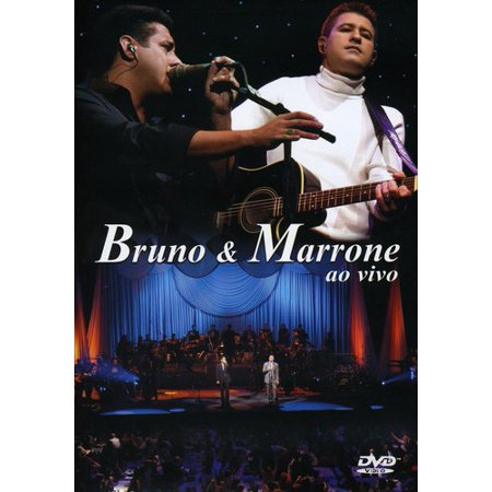 0828766156294 - DVD BRUNO E MARRONE - AO VIVO