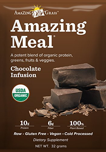 0829835003587 - AMAZING GRASS AMAZING MEAL CHOCOLATE INFUSION SINGLE SERVE PACKET