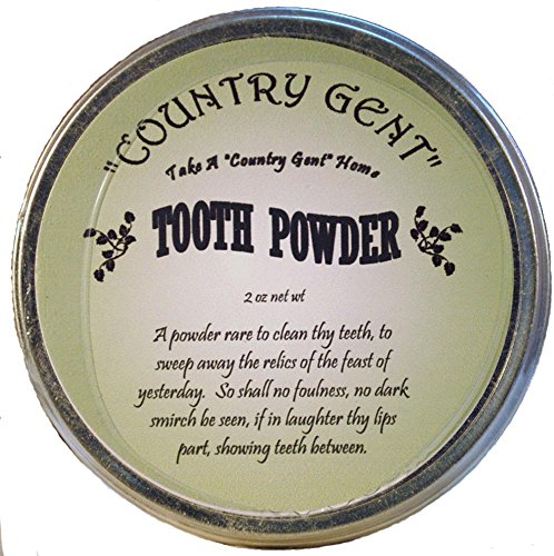 """0833345001049 - """"COUNTRY GENT"""" TOOTH POWDER IN TIN, 2 OZ"""