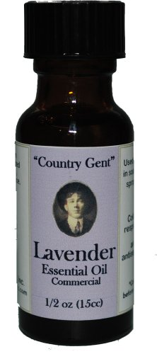 "0833345006174 - ""COUNTRY GENT"" LAVENDER ESSENTIAL OIL, COMMERCIAL GRADE 1/2 OZ"