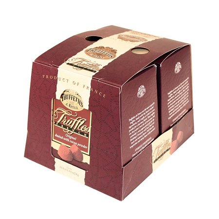 0837246000828 - CHOCMOD TRUFFETTES DE FRANCE NATURAL TRUFFLES PLAIN 1000-GRAM BOXES
