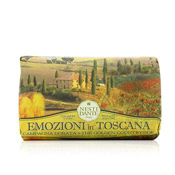 0837524000687 - EMOZIONI IN TOSCANA THE GOLDEN COUNTRYSIDE SOAP