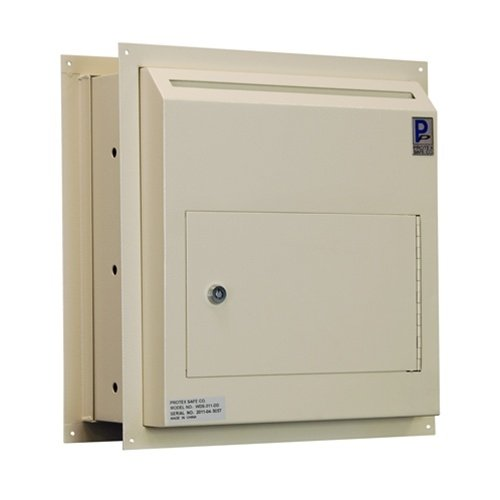 0837654461228 - PROTEX WDS-311-DD THROUGH-THE-WALL DROP BOX WITH DUAL DOORS