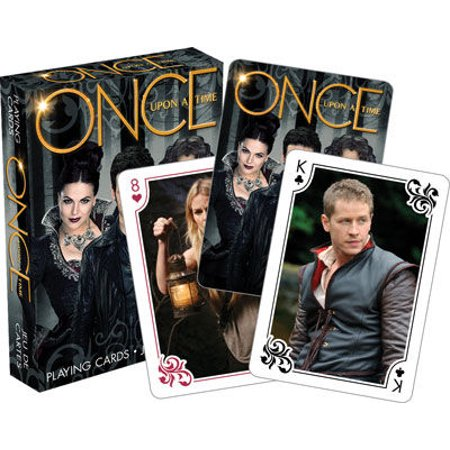 0840391113206 - ONCE UPON A TIME SCENES PLAYING CARDS