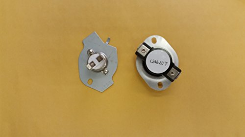 0840993002717 - REPLACEMENT WHIRLPOOL, SEARS, KENMORE DRYER THERMOSTAT KIT 279769