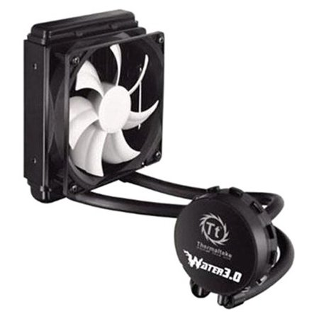 0841163054352 - THERMALTAKE WATER 3.0 PERFORMER C 120MM AIO LIQUID COOLING SYSTEM CPU COOLER CLW0222-B