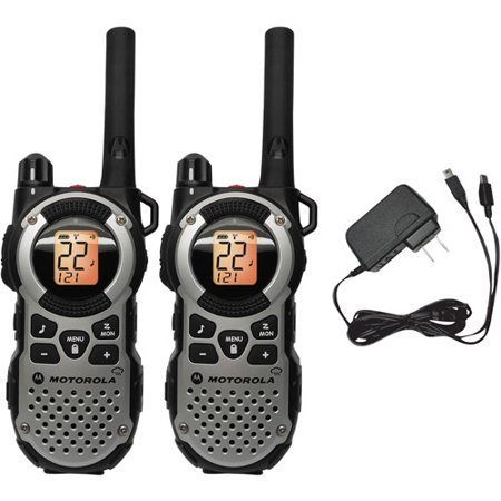0843677001563 - MOTOROLA MT352R FRS TWO-WAY WEATHERPROOF RADIO PAIR