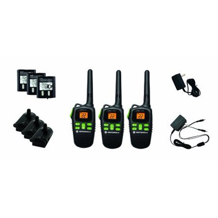 0843677001570 - MOTOROLA MD200R FRS TWO-WAY RADIO TRIPLE PACK