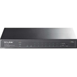 0845973022013 - TP-LINK TL-SG2210P 8-PORT GIGABIT SMART POE SWITCH WITH 2 COMBO SFP SLOTS, 8 POE PORTS, 802.3AT/AF COMPLIANT, UP TO 53W POWER SUPPLY