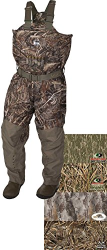 0848222044552 - BANDED GEAR REDZONE BREATHABLE INSULATED WADERS (MOSSY OAK SHADOW GRASS BLADES) (MEN'S 11 KING)