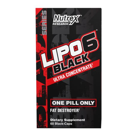 0853237000714 - NUTREX RESEARCH LIPO 6 BLACK ULTRA CONCENTRATE DIET SUPPLEMENT CAPSULES, 60 COUNT