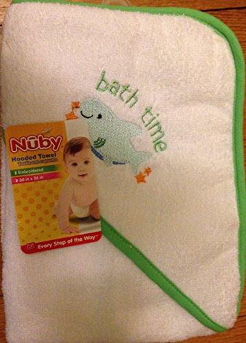 0853250003266 - NUBY HOODED TOWEL FOR BABIES
