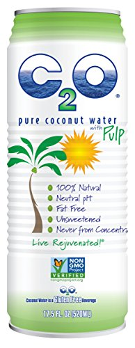 0853883003039 - C2O PURE COCONUT WATER, WITH PULP, 17.5 OUNCE (PACK OF 12)