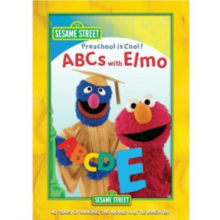 0854392002902 - PRESCHOOL IS COOL-ABCS WITH ELMO (DVD)