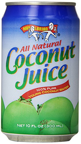 0854413001402 - AMY & BRIAN NATURAL COCONUT JUICE UNSWEETENED, 10- OUNCE TINS (PACK OF 24)