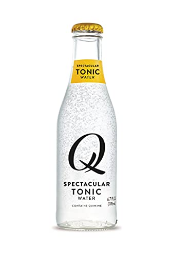 0856544008084 - Q MIXERS TONIC WATER, PREMIUM COCKTAIL MIXER, 6.7 OZ (24 BOTTLES)