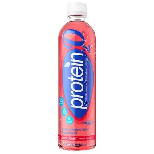 0858379004019 - PROTEIN2O, BERRY SPLASH, 15G PROTEIN WATER, 16.9 OZ (PACK OF 12)