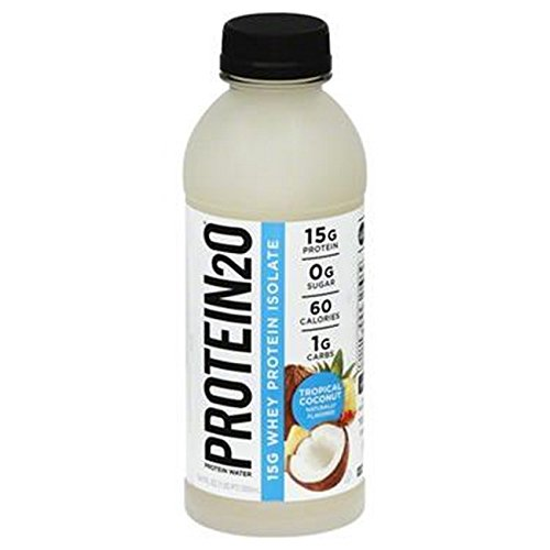 0858379004095 - PROTEIN2O, WATER, TROPICAL COCONUT, PACK OF 12, SIZE - 16.9 OZ, QUANTITY - 1 CASE