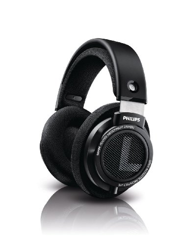 8712581691448 - PHILIPS SHP9500 HIFI PRECISION STEREO OVER-EAR HEADPHONES (BLACK)