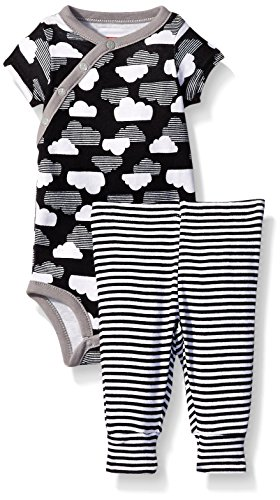 0879674024427 - SKIPHOP BABY STAR STRUCK BODYSUIT WITH PANTS SET, CLOUD, 3 MONTHS