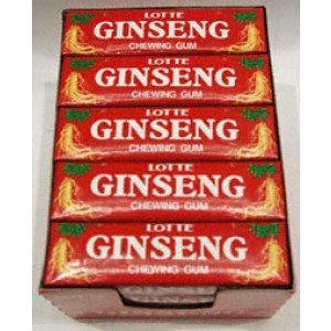 8801062312863 - GINSENG CHEWING GUM PER PACK 20 PACK