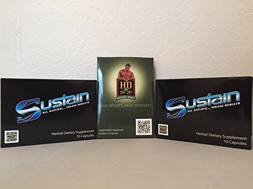 0881314117031 - **SPECIAL PRICING **SUSTAIN & HD 20/20 COMBO PACK -2 PACKS SUSTAIN & 1 PACK HD 20/20