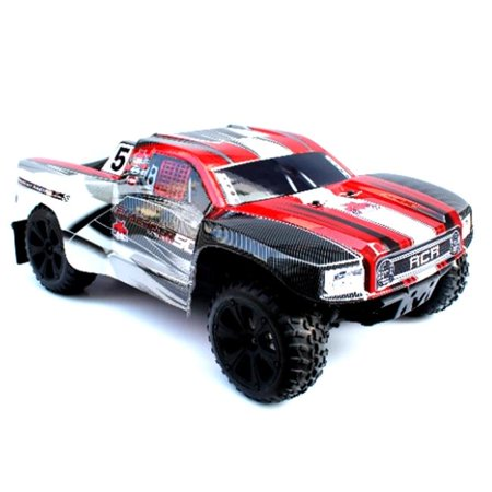 0881314265596 - REDCAT RACING BLACKOUT SC PRO 1/10 SCALE BRUSHLESS ELECTRIC SHORT COURSE TRUCK WITH WATERPROOF ELECTRONICS VEHICLE, RED