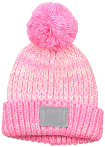 0881634721765 - UNDER ARMOUR BABY POM BEANIE, PINK PUNK, INFANT/SMALL