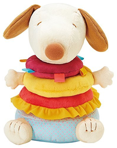0881780306618 - PEANUTS BY SCHULZ SNOOPY INFANT STACKING PLUSH