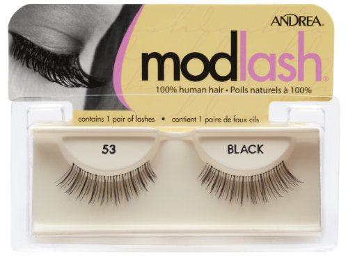 0883320247801 - ANDREA MOD STRIP LASH PAIR STYLE 53 (PACK OF 4)