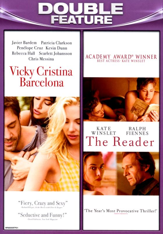 0883476080000 - VICKY CRISTINA BARCELONA / THE READER (DOUBLE FEATURE) (WIDESCREEN)