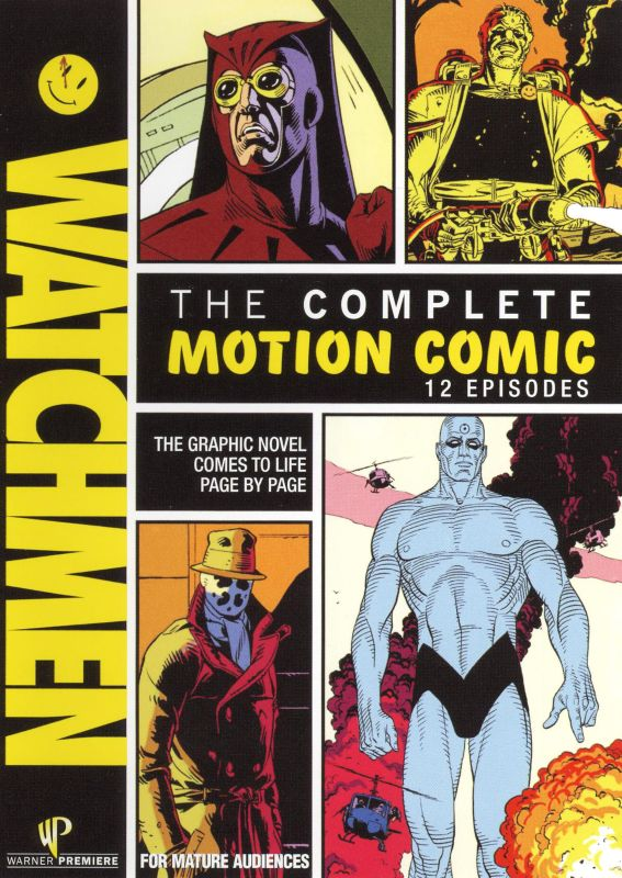 0883929062225 - DVD WATCHMEN: THE COMPLETE MOTION COMIC