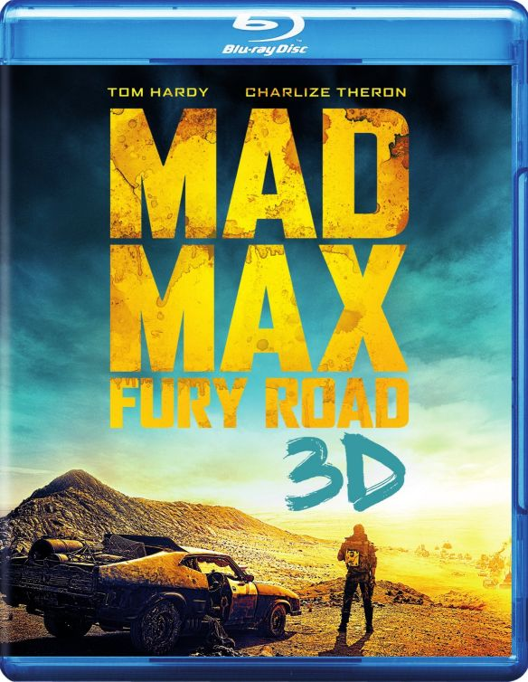 0883929423934 - MAD MAX: FURY ROAD (3D BLU-RAY + BLU-RAY + DVD +ULTRAVIOLET COMBO PACK)