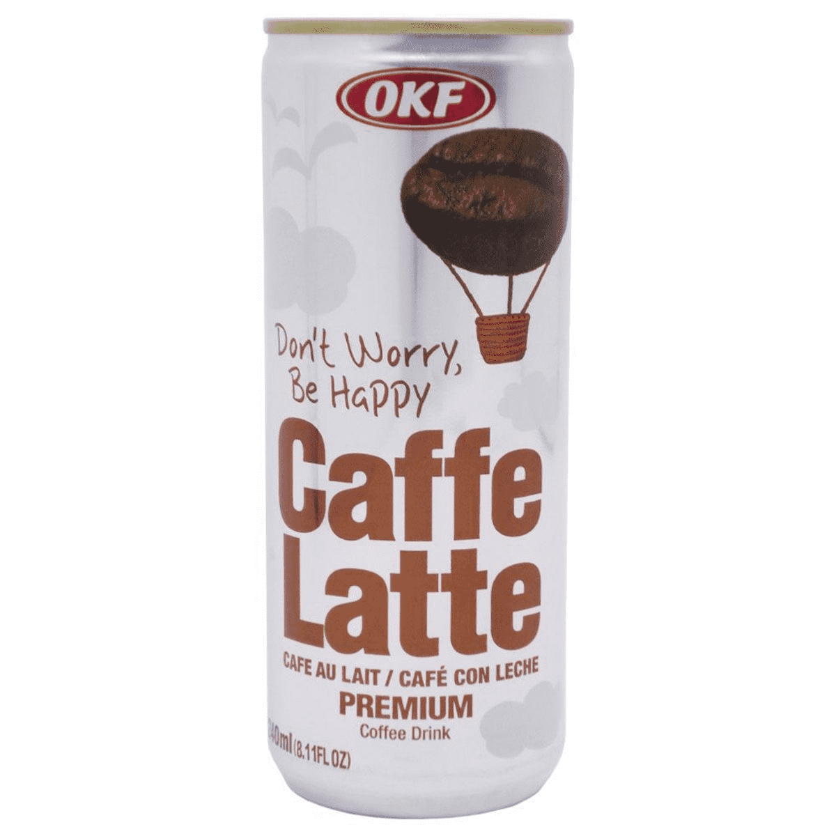 0884394001917 - OKF CAFE LATTE