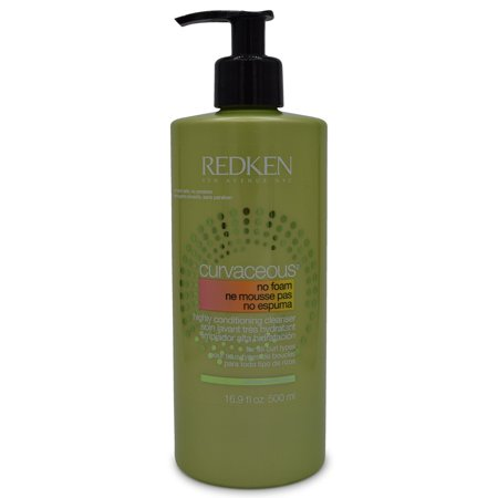 0884486234711 - REDKEN CURVACEOUS NO FOAM HIGHLY CONDITIONING CLEANSER (16.9 OUNCES)