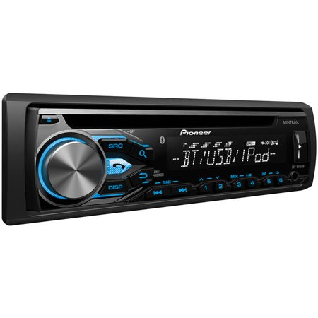 0884938323277 - PIONEER DXT-X4869BT BLUETOOTH CD CAR STEREO RECEIVER BUNDLE WITH TWO 6.5 SPEAKERS AND TWO 6 X 9 SPEAKERS, W/ REMOTE