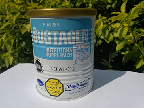 8850024105258 - SUSTAGEN 400G TIN - NUTRITIONAL SUPPLEMENT FOR ALL (VANILLA FLAVOR)