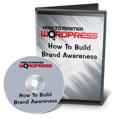 0885007406129 - HOW TO MASTER WORDPRESS - HOW TO BUILD BRAND AWARENESS - VIDEO COURSE