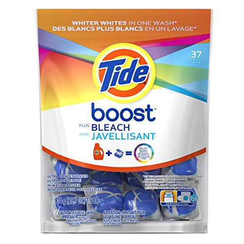 0885131413345 - TIDE BOOST STAIN RELEASE PLUS BLEACH 37 COUNT