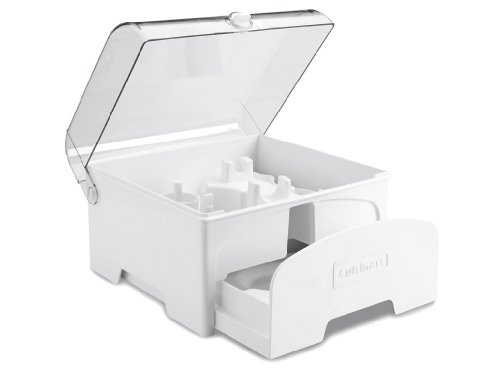 0885159236766 - CUISINART FP-12SC ELITE COLLECTION ACCESSORY STORAGE CASE FOR 12-CUP FOOD PROCESSORS, WHITE
