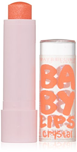 0885190535583 - MAYBELLINE NEW YORK BABY LIPS CRYSTAL LIP BALM, GLEAMING CORAL, 0.15 OUNCE
